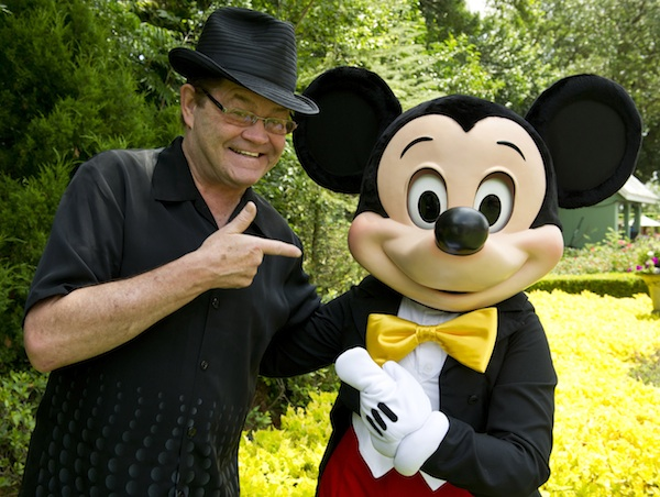 Micky Dolenz & Mickey Mouse (credit: The Walt Disney Company)