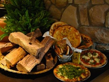 Pizza buffet (credit: The Mayfair Hotel & Spa)