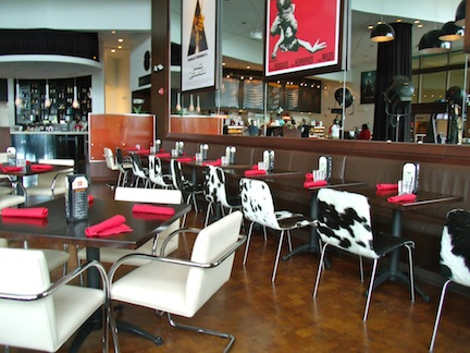 Silverspot Cinema dining area (credit: Holiday Tripper)
