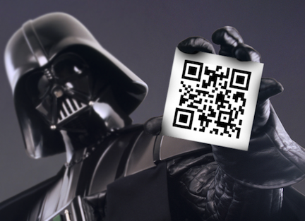 Grab the QR Code (credit: The Walt Disney Company)