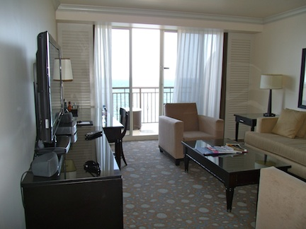 The Atlantic Resort & Spa Oceanfront Suite (credit: Holiday Tripper)