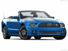 Ford Mustang Convertible (credit: Royal Rent a Car)