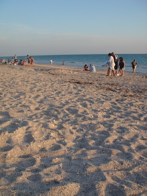 Spending time at the beach (credit: HolidayTripper.com)