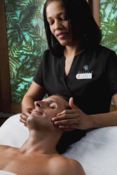 Male facial (credit: Gaylord Palms)