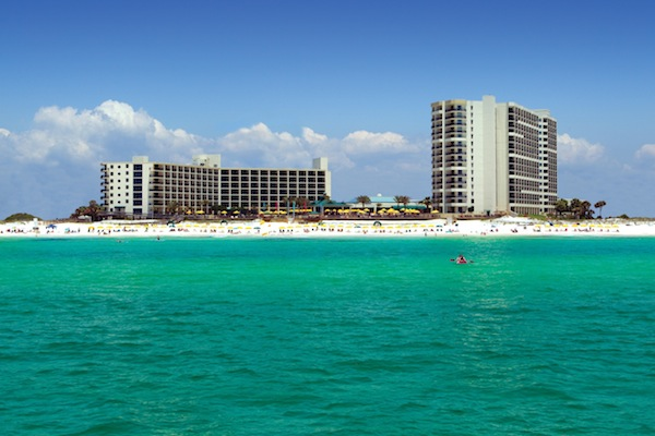 Hilton on the beach (credit: Hilton Sandestin)