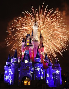 Disney Fireworks (credit: David Roark)