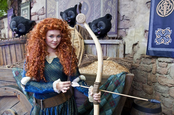 Merida at Magic Kingdom park (credit: The Walt Disney Company)