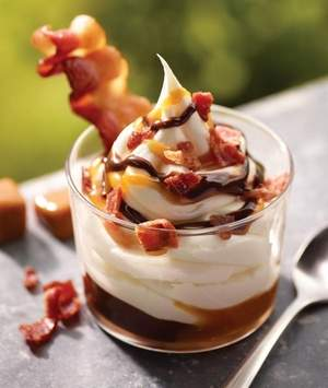 The new bacon sundae (credit: Burger King)