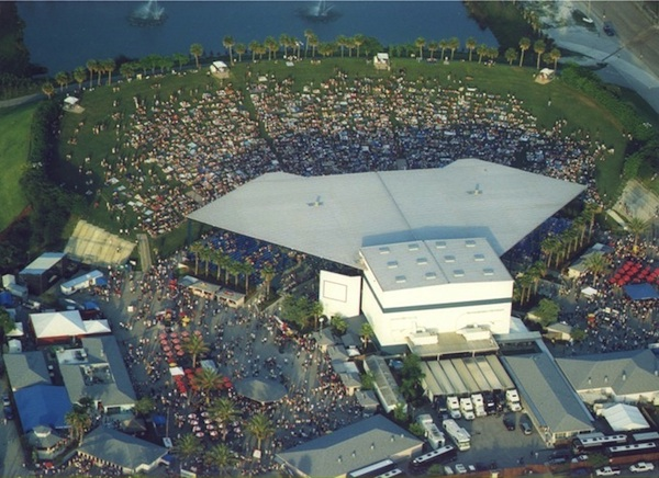 The venue (credit: Cruzan Amphitheatre)