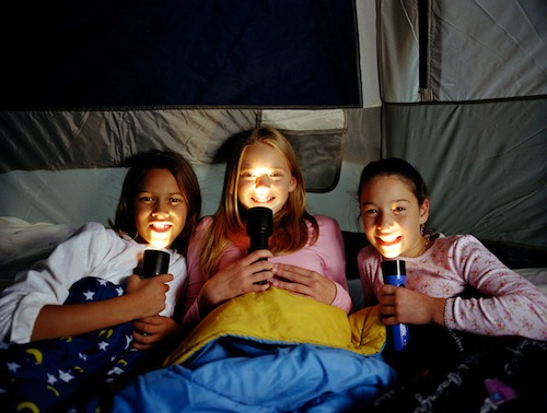 Girls In Tent (credit: PRNews Foto)