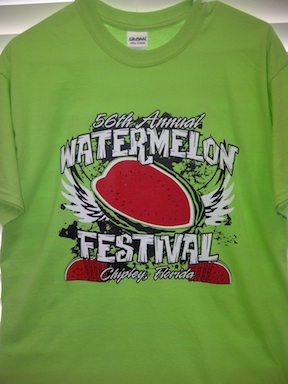 Get the t shirt (credit: Panhandle Watermelon Festival)