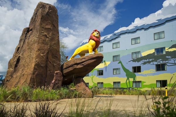 Lion King wing at Disney's Art of Animation Resort (credit: The Walt Disney Company)