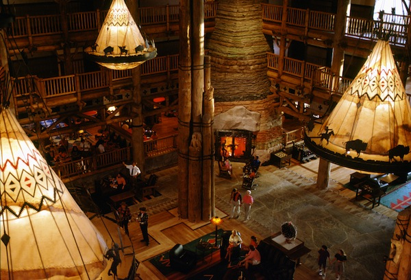 Disney&#039;s Wilderness Lodge Lobby (credit: The Walt Disney Company)