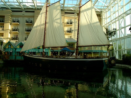The S.S. Gaylord in the Key West Atrium (credit: HolidayTripper.com)
