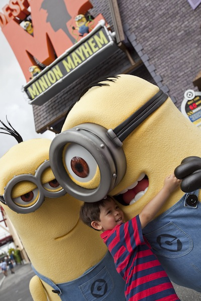Despicable Me Minion Mayhem (credit: Universal Studios)