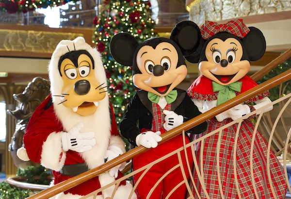 Winter Holidays Aboard Disney Cruise Line (credit: The Walt Disney Company)