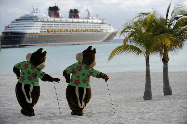 Christmas at Castaway Cay (credit: The Walt Disney Company)