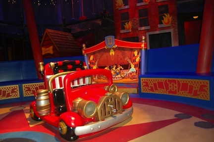 Circus at Disney Fantasyland (credit: The Walt Disney Company)