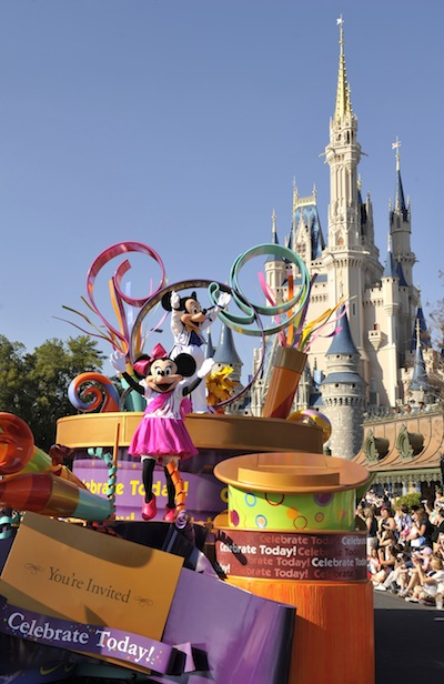 Magic Kingdom Parade (credit: The Walt Disney Company)