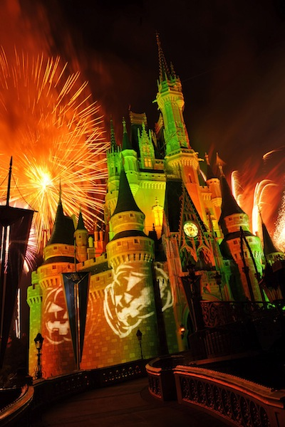 """Happy HalloWishes"" fireworks show (credit: The Walt Disney Company)"