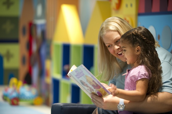 Caregiver at the It's a Small World Nursery (credit: The Walt Disney Company)