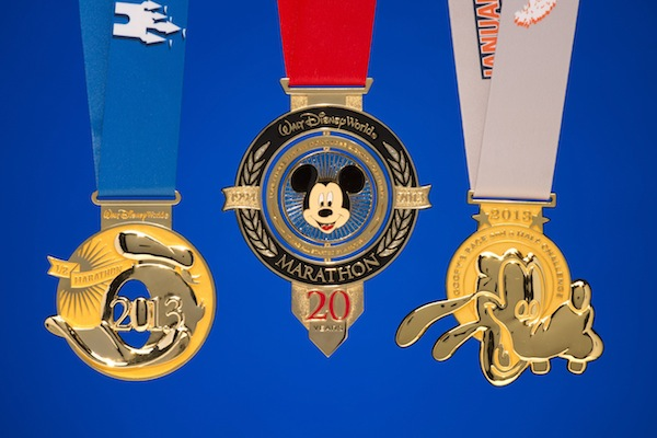 Marathon Medals (credit: The Walt Disney Company)