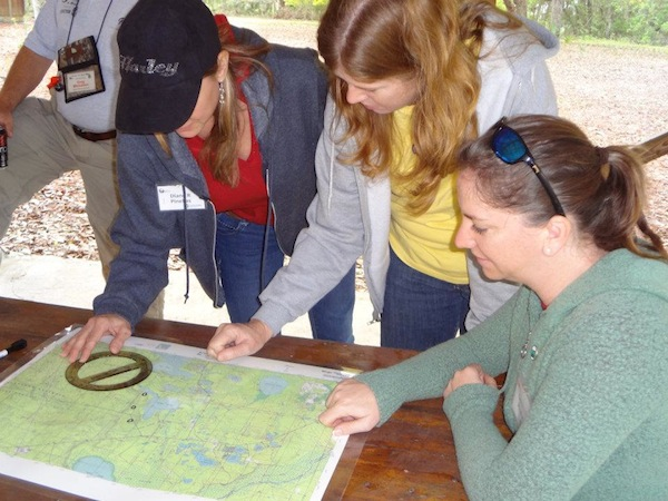 Map and Compass Training (credit: FWC)