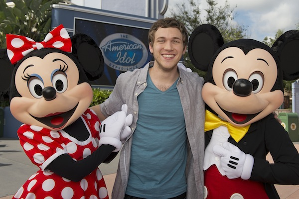 American Idol champion Phillip Phillips (credit: The Walt Disney Company)