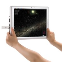 Stargazing with a tablet (credit: Fairy Devices Inc. )