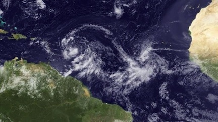 Tropical Storm Isaac (credit: AFP/NOAA)