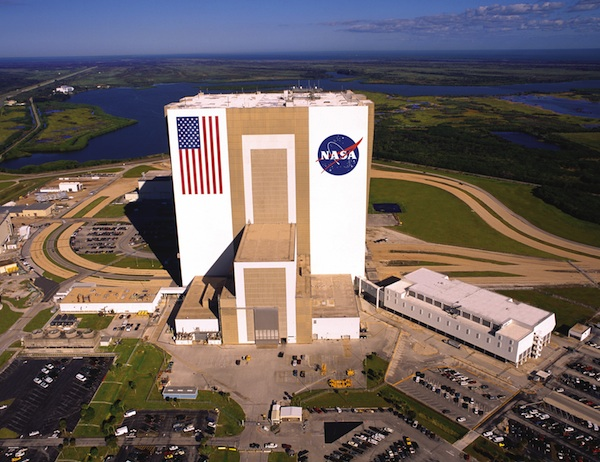 VAB aerial (credit: NASA)
