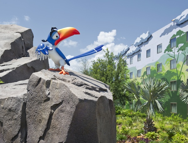 Zazu at Lion King Wing (credit: The Walt Disney Company)