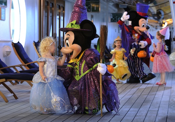 Halloween on Disney Cruise ships (credit: The Walt Disney Company)