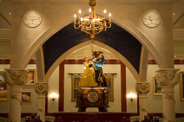 Be Our Guest Restaurant Rose Gallery (credit: The Walt Disney Company)