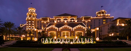 Gaylord Christmas (credit: Gaylord Palms)