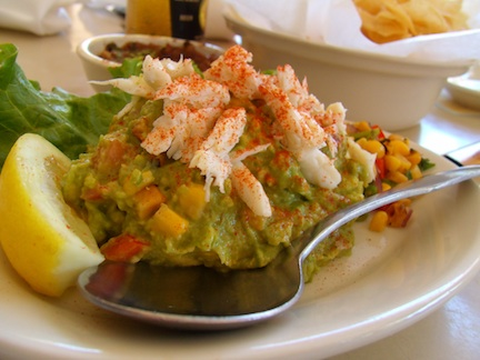 Roasted corn & crab guacamole (credit: HolidayTripper.com)