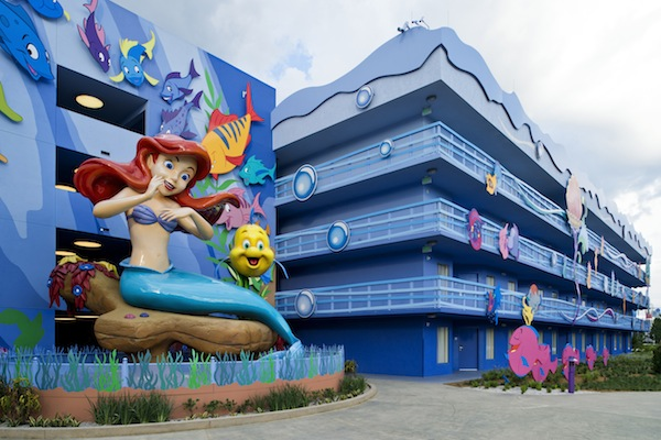Ariel at Disney's Art of Animation Resort (credit: The Walt Disney Company)