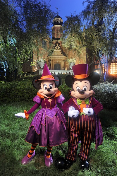Mickey and Minnie in Halloween Costume (credit: The Walt Disney Company)