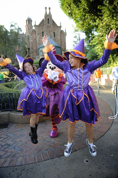 Spirited Halloween Witches (credit: The Walt Disney Company)