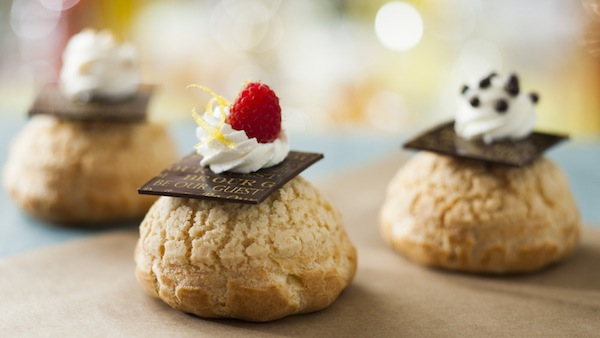 Cream Puffs at Be Our Guest Restaurant (credit: The Walt Disney Company)