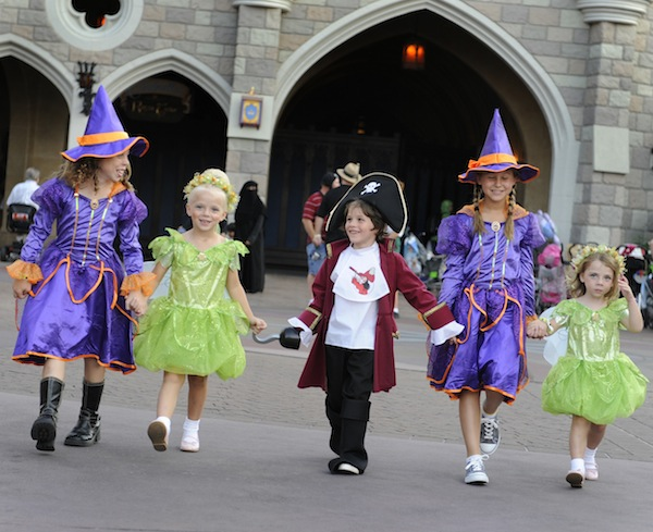 Halloween Trick or Treaters  (credit: The Walt Disney Company)