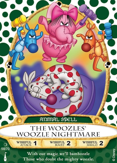 Woozles Woozle sorcerer card (credit: The Walt Disney Company)
