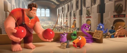 Still image from Wreck-It-Ralph (credit: The Walt Disney Company)