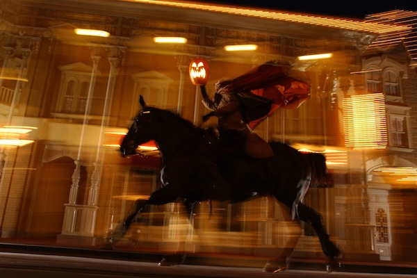 Headless Horseman at Halloween (credit: The Walt Disney Company)