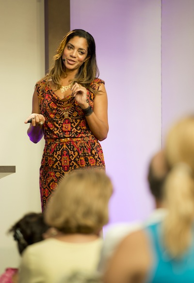 Danielle Colding Home Entertaining Seminar (credit: The Walt Disney Company)