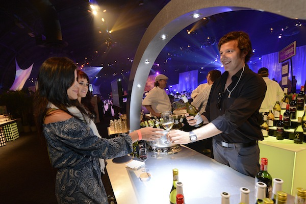 Wine Tasting at Party for the Senses (credit: The Walt Disney Company)