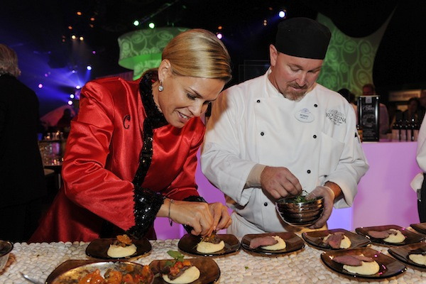 Cat Cora and Kouzzina (credit: The Walt Disney Company)