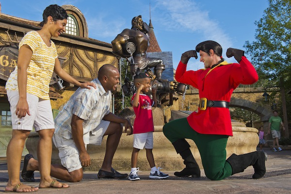 Gaston (credit: The Walt Disney Company)