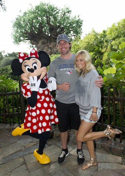 CARRIE UNDERWOOD AND HUSBAND, NHL STAR MIKE FISHER (credit: The Walt Disney Company)