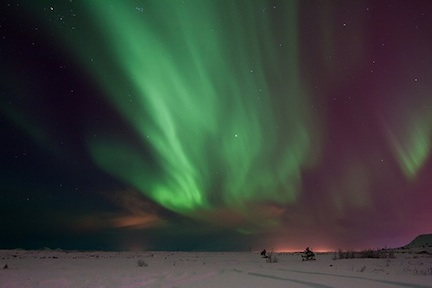 Beautiful Northern Lights (credit: Harpa Hrund)